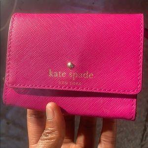 Kate Spade Cedar Street Darla Wallet Cabaret Pink